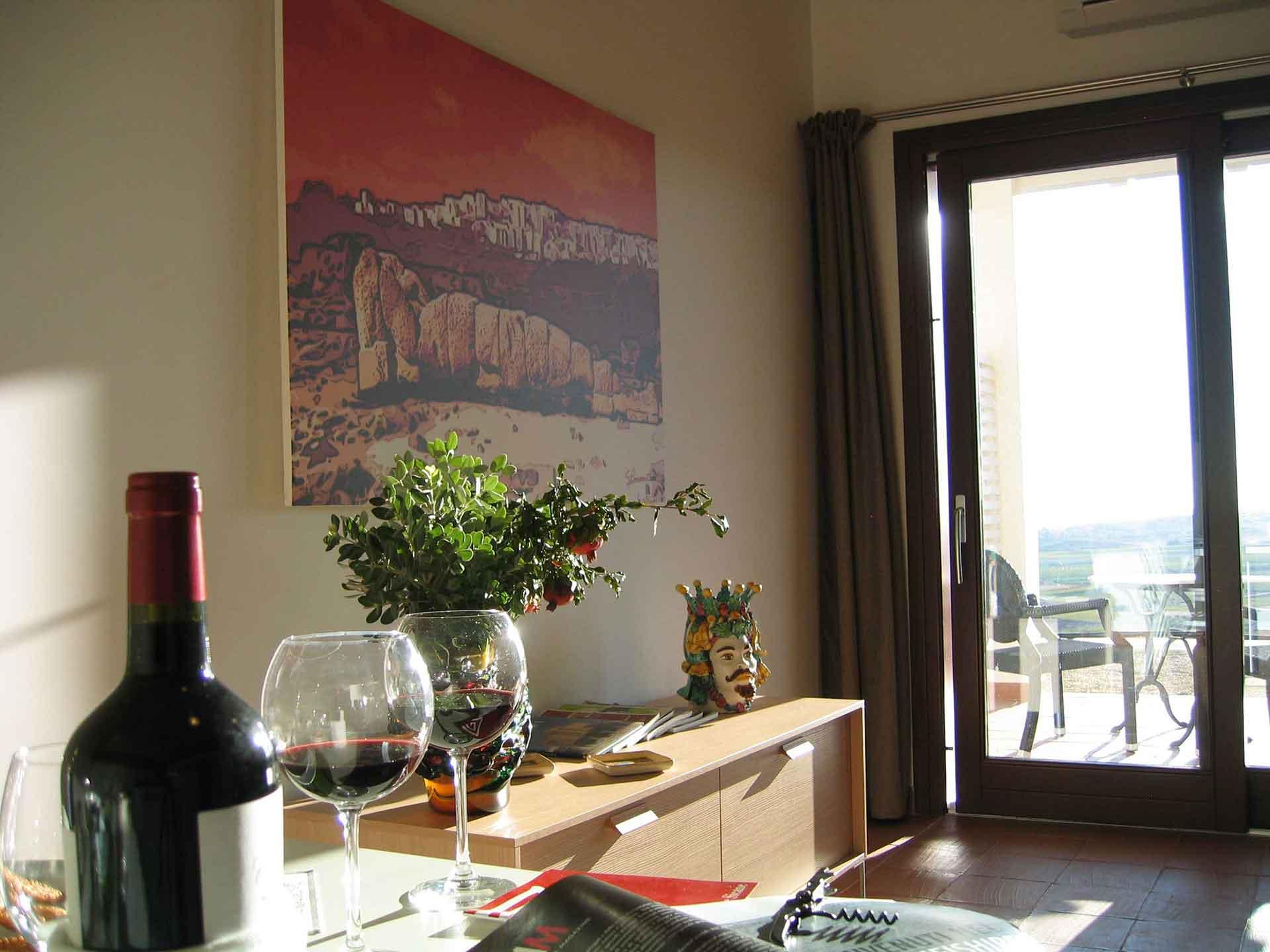 Khirat Menfi vacation rentals | living room grand suite