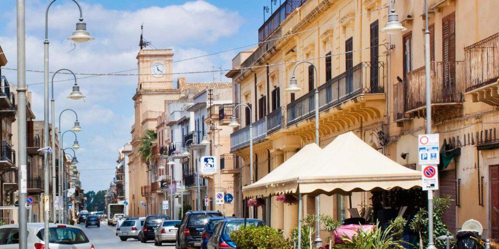 MENFI in Sicilia<br> arte e storia nella città sicana di Inyco